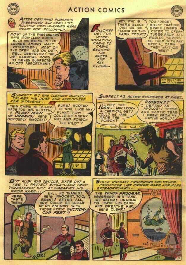 Read online Action Comics (1938) comic -  Issue #202 - 19