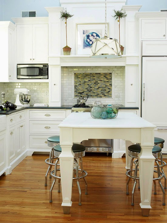 80 Desain Dapur dan Ruang Makan Sederhana yang Menyatu ...
