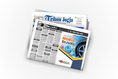 pasang iklan Mobil Dijual di koran Tribun Jogja