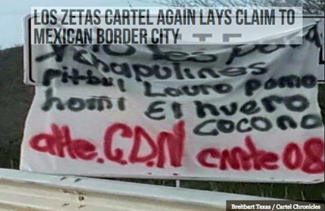"""""""Zetas ya estamos aquí, sicarios de El CDN reclaman dominio al mando de """"El Comandante 08"""" en 5 narcomantas"""""""