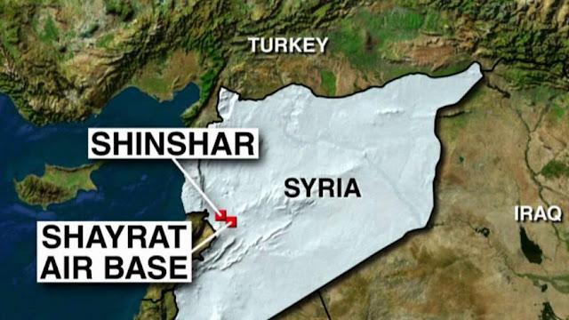 misiles de crucero de estados unidos impactan sobre base aerea