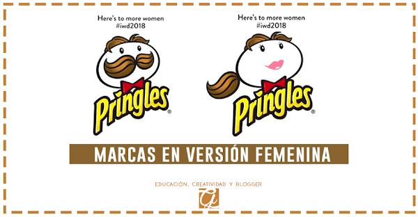 Marcas importantes encuentran sus logos en versión femenina