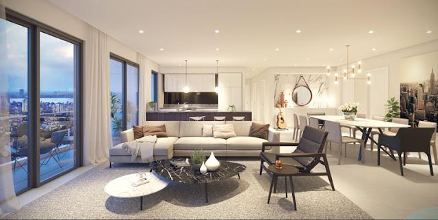 Thiết kế căn hộ chung cư Núi Trúc Square