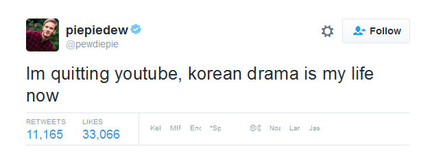 PewDiePie Korean Drama
