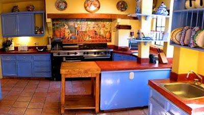 Decorar cocinas al estilo mexicano cocina y muebles for Cocinas rusticas mexicanas