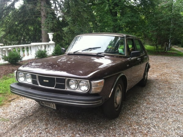 Just A Car Geek: 1977 Saab 99 - Non Turbo - A Cool, Basic