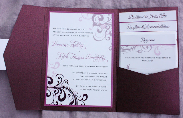 Wedding invitations pictures Samples