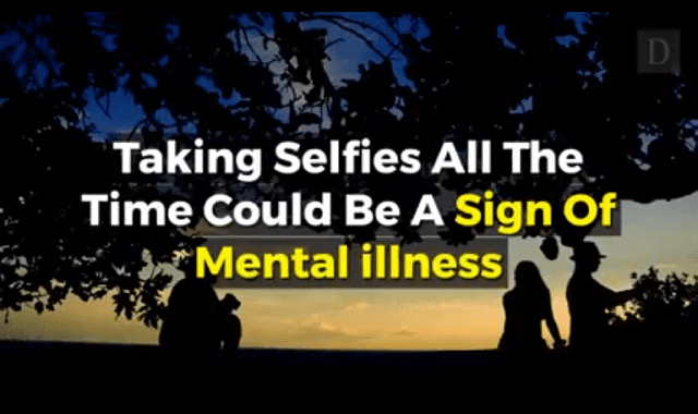 Taking Selfies All The Time Could Be Sign Of Mental Illness