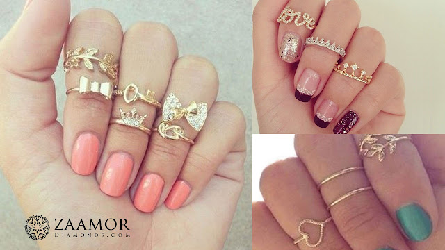 Midi Rings - Zaamor Diamonds