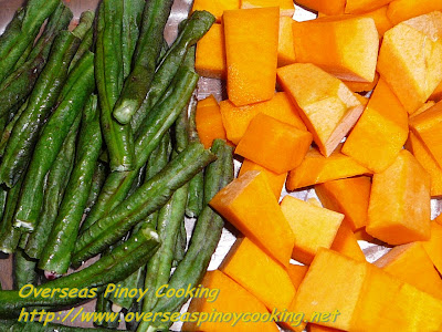 String Beans and Squash