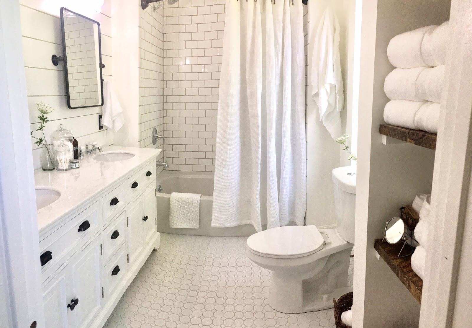 We Bought a Farmhouse: Guest Bathroom: The Final Reveal