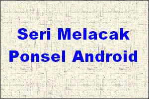 lacak ponsel android
