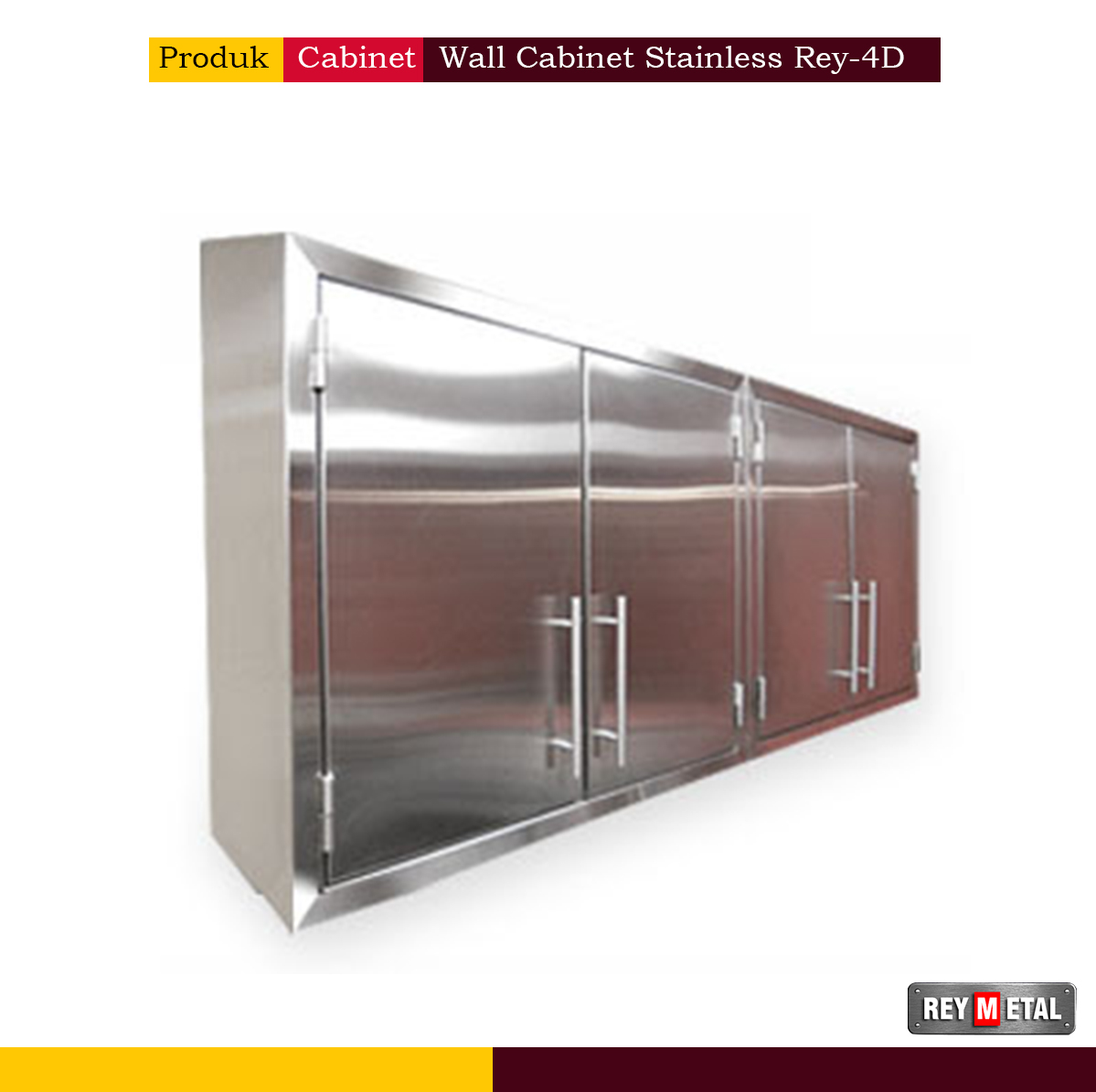 Wall Cabinet Stainless Steel reymetal.com