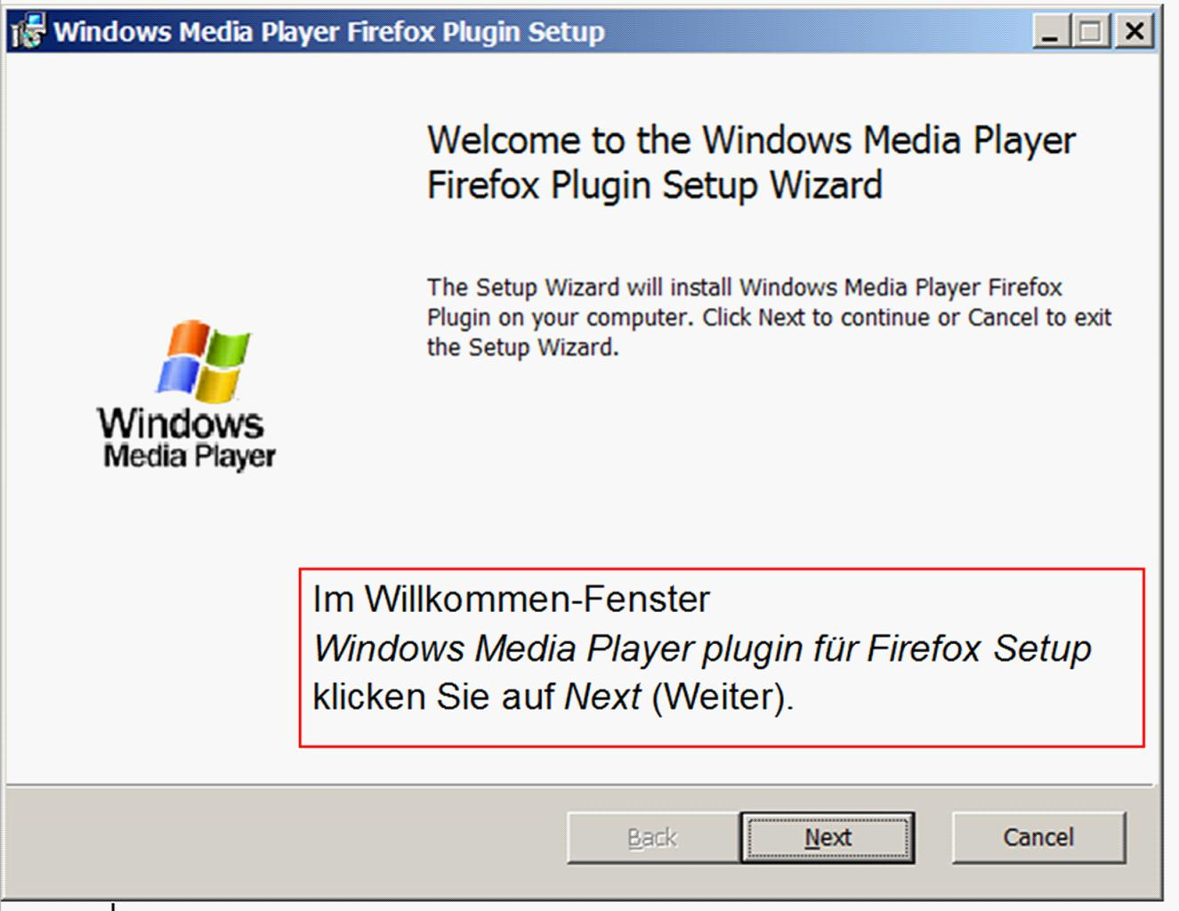 Pceinsteiger Firefox Plugin Windows Media Player 11