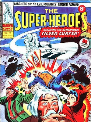 Marvel UK, The Super-Heroes #10, the Silver Surfer
