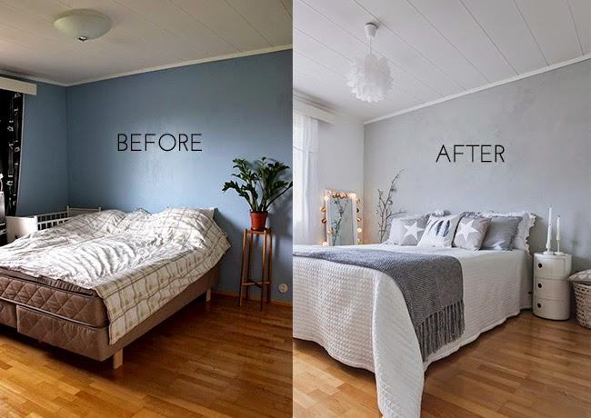 Antes y despu s lowcost de un dormitorio diariodeco - Como renovar un dormitorio por poco dinero ...