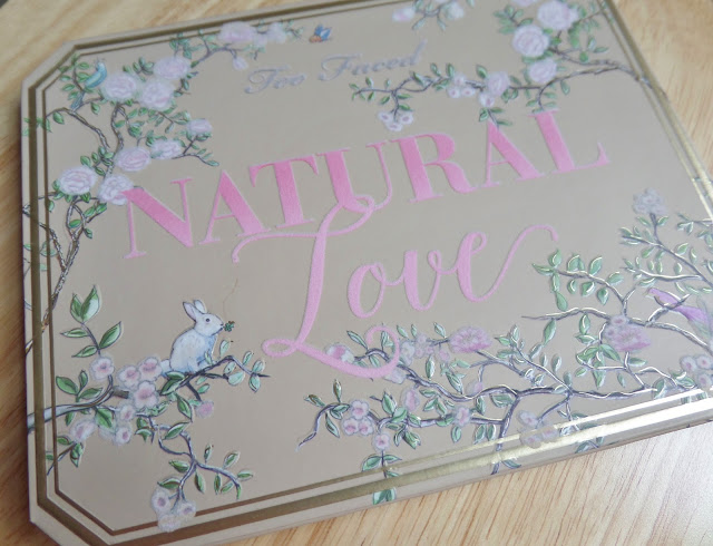 too faced natural love ultimate neutral eye shadow palette packaging