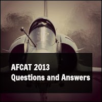 AFCAT 2013 Questions and Answers