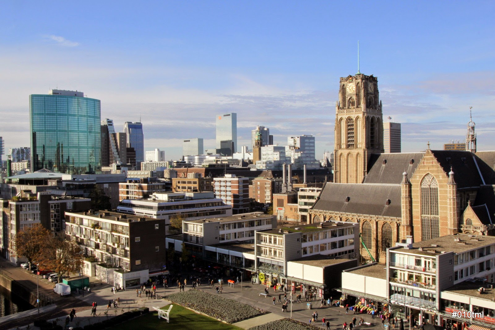 Rotterdam through my lens: Room with a view