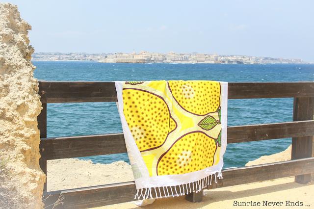 fouta,citron,limoncello,sicile,italie,bensimon hossegor,limone