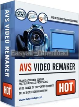AVS Video ReMaker 5.1.1.287 [Full Patch] โปรแกรมตัดต่อวีดีโอ