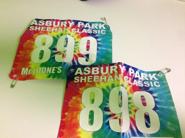 Asbury park sheehan classic race bib