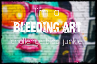 I love Bleeding Art Challenge