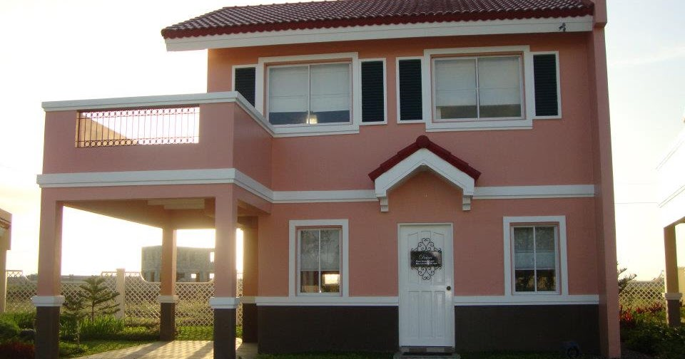 Drina Model House Of Camella Home Series Iloilo By Camella