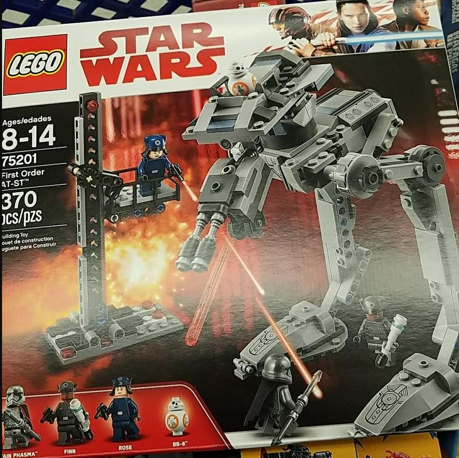 Rose 75201 First Order AT-ST Minifig New LEGO Star Wars