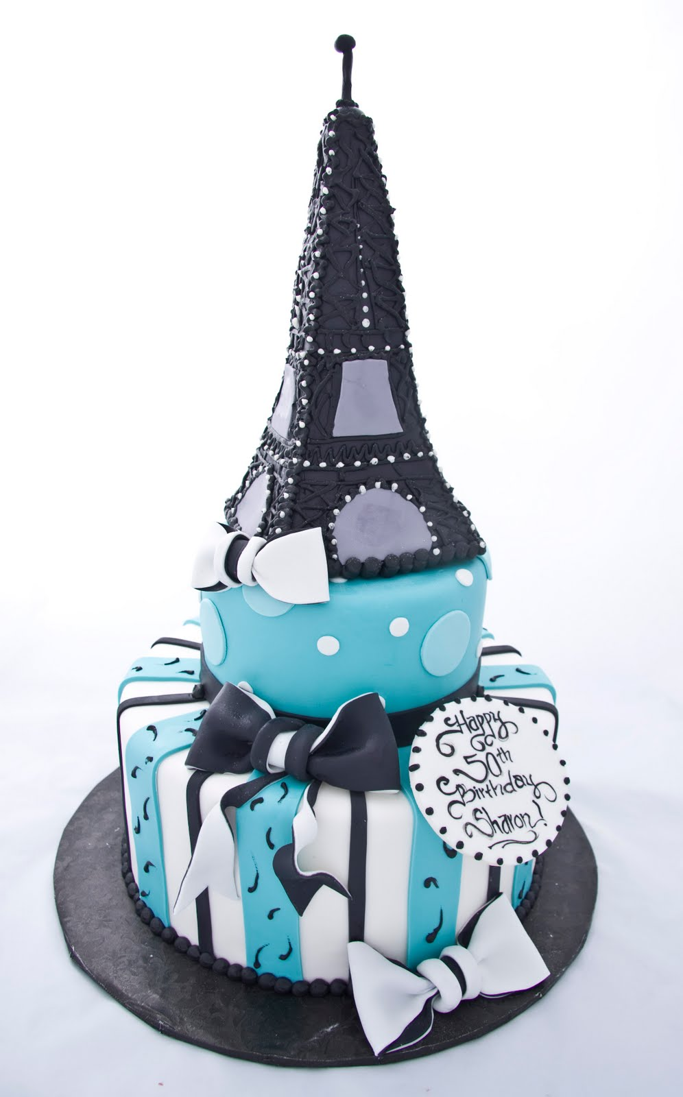 The Crimson Cake Blog Eiffel Tower Cake
