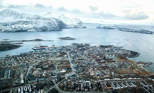 Nuuk aerial view