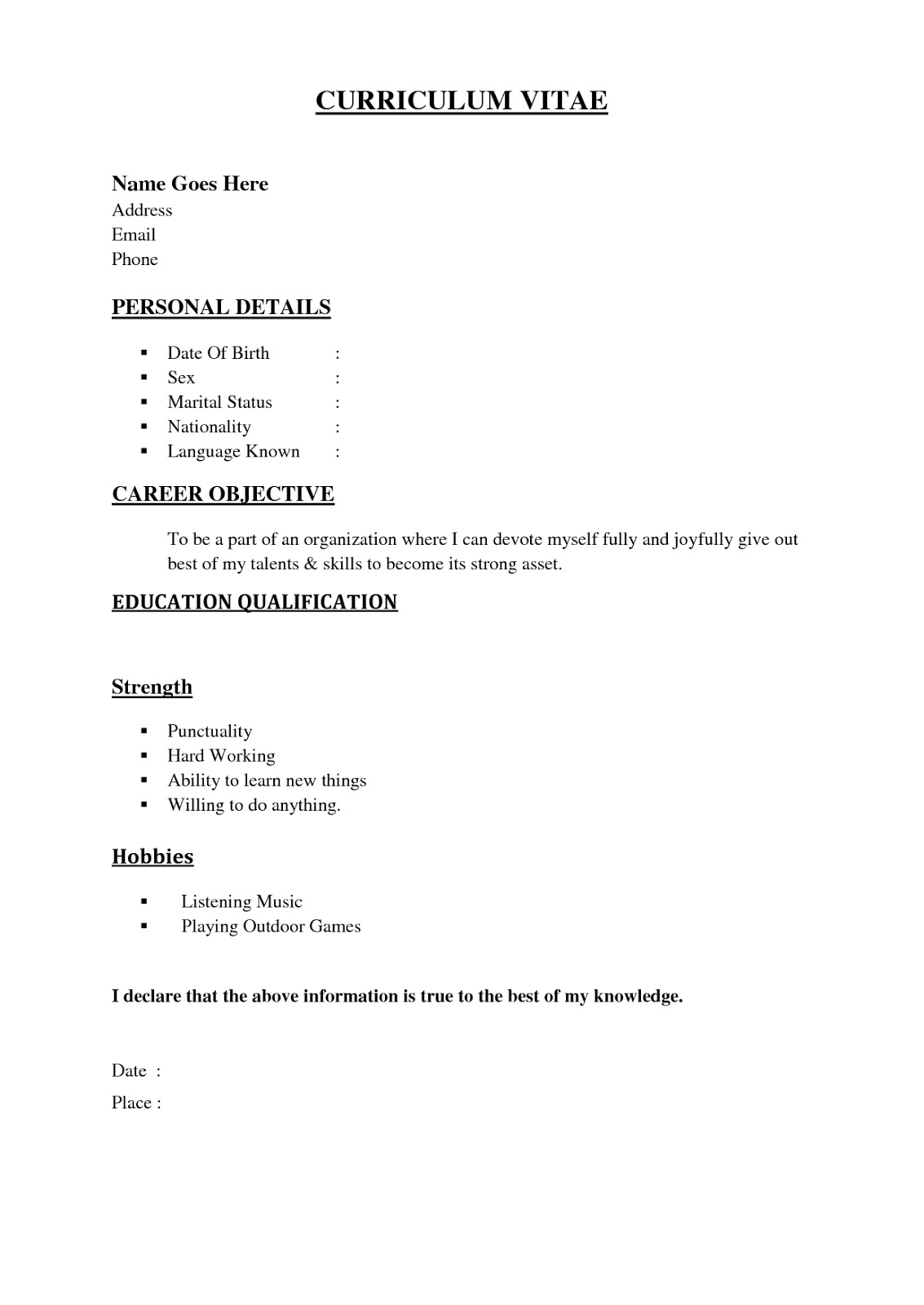 great resume templates make resume creation easier tags best free resume builder