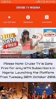 Cruise TV MTN SIM Free