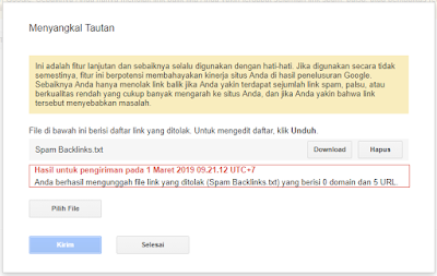 Cara Menghapus Backlink Spam dengan Benar
