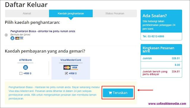 Cara dan Kaedah Pembayaran Selepas Membida di CHILINDO Malaysia - Sofinah Lamudin