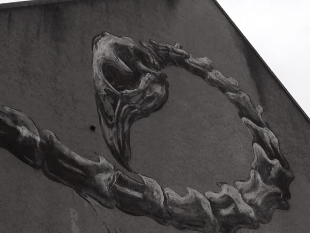 Work In Progress by ROA For Rise Street Art Festival In Christchurch, New Zealand. 5