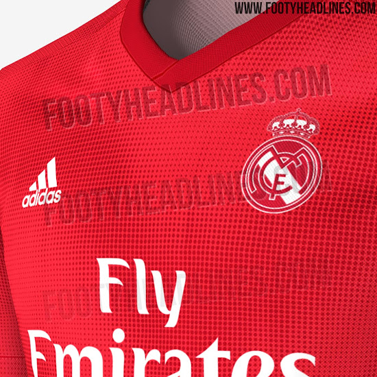 big sale 10417 dc30f Adidas Real Madrid 18-19 Home & Away Kits Released + Third ...