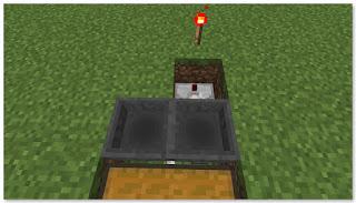 Minecraft トロッコアイテム輸送 簡単な荷降ろし駅 作り方③