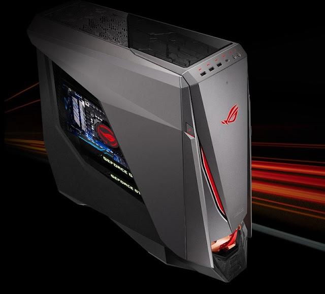 Asus Siapkan Gaming Desktop ROG GT51CA