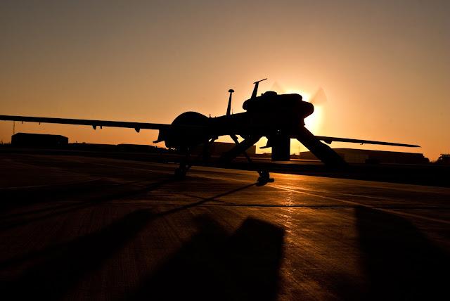USAF General Atomics MQ-1 Predator Silhouette