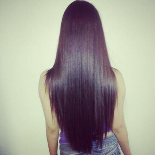 Lights. Camera. Hair and Make-up.: Bone Straight Hair