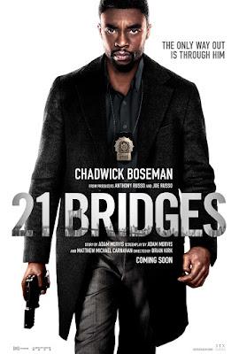 21 Bridges Movie Poster 2