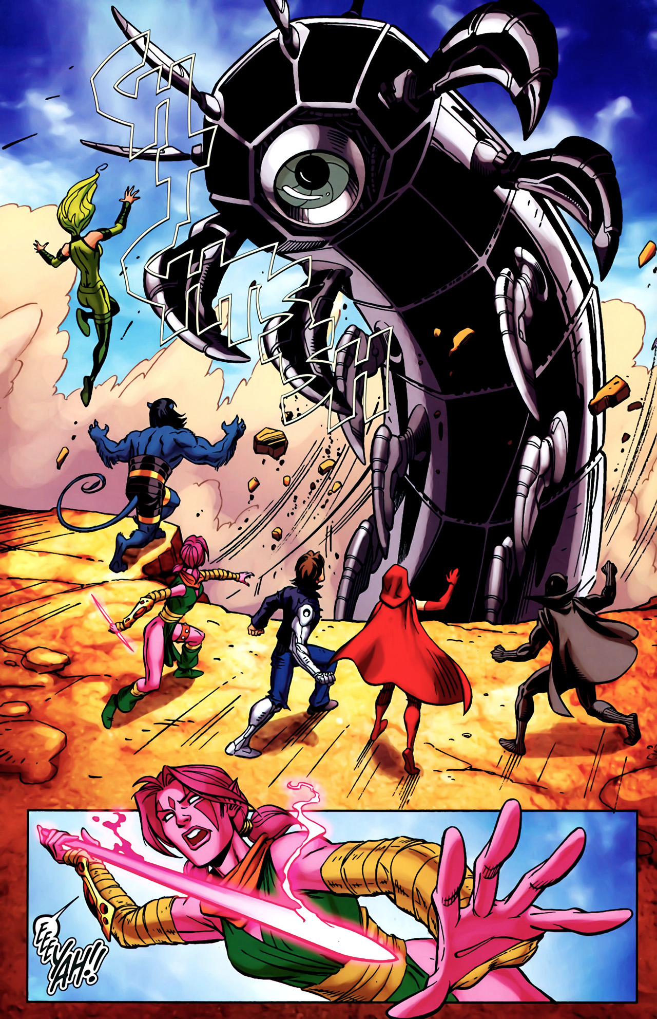 Read online Exiles (2009) comic -  Issue #4 - 4