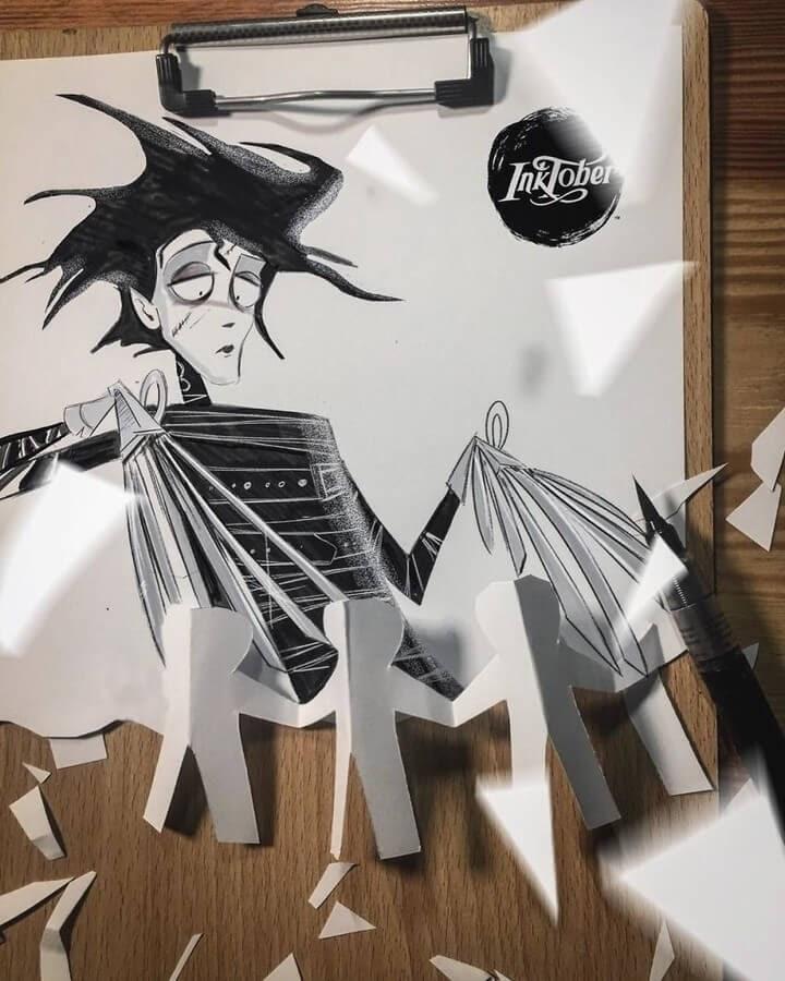 15-Edward-Scissorhands-L-Kemo-www-designstack-co