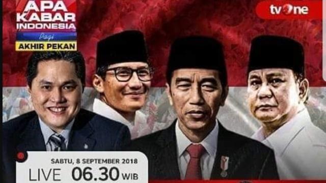 Gerindra Sebut Erick Thohir 'Stuntman' Cawapres Jokowi