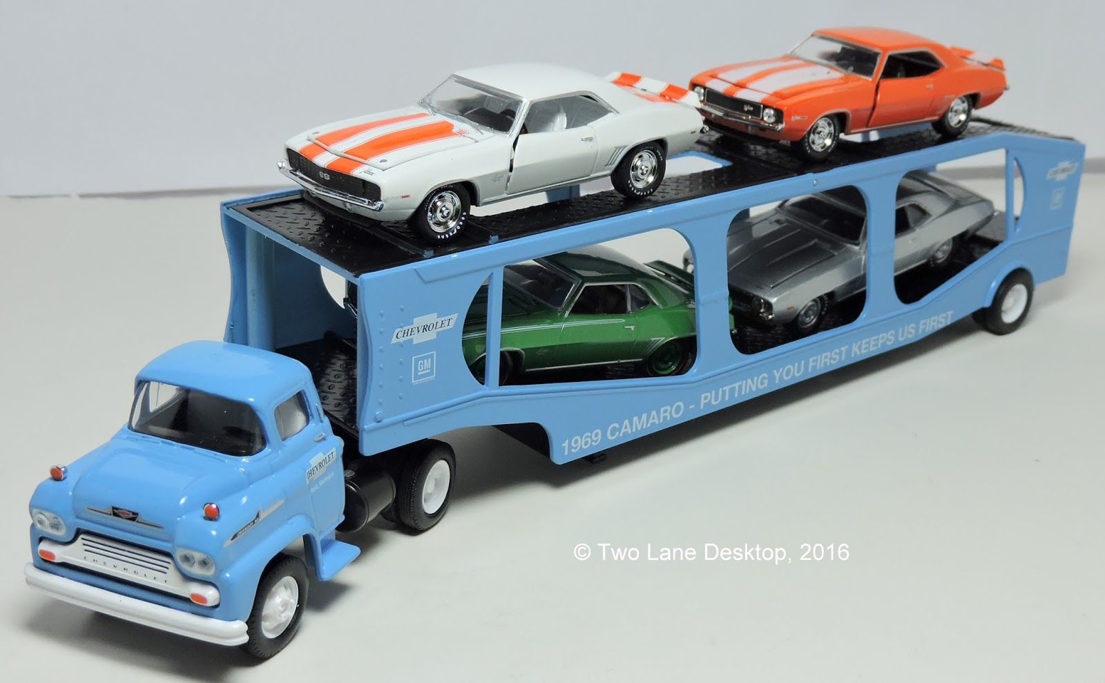 Two Lane Desktop M2 Machines Father S Day Auto Haulers 1969 Camaro S