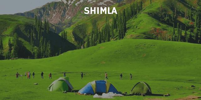 Trekking tents for rent in Shimla
