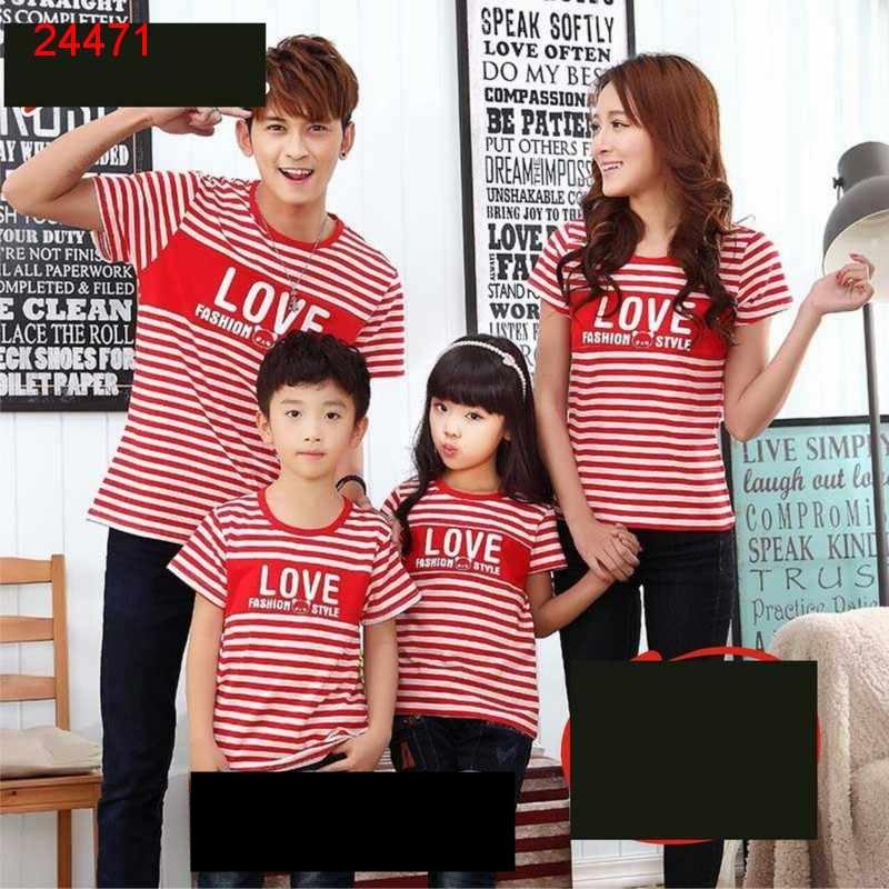Jual Couple Keluarga FM2 Salur Style Red - 24471