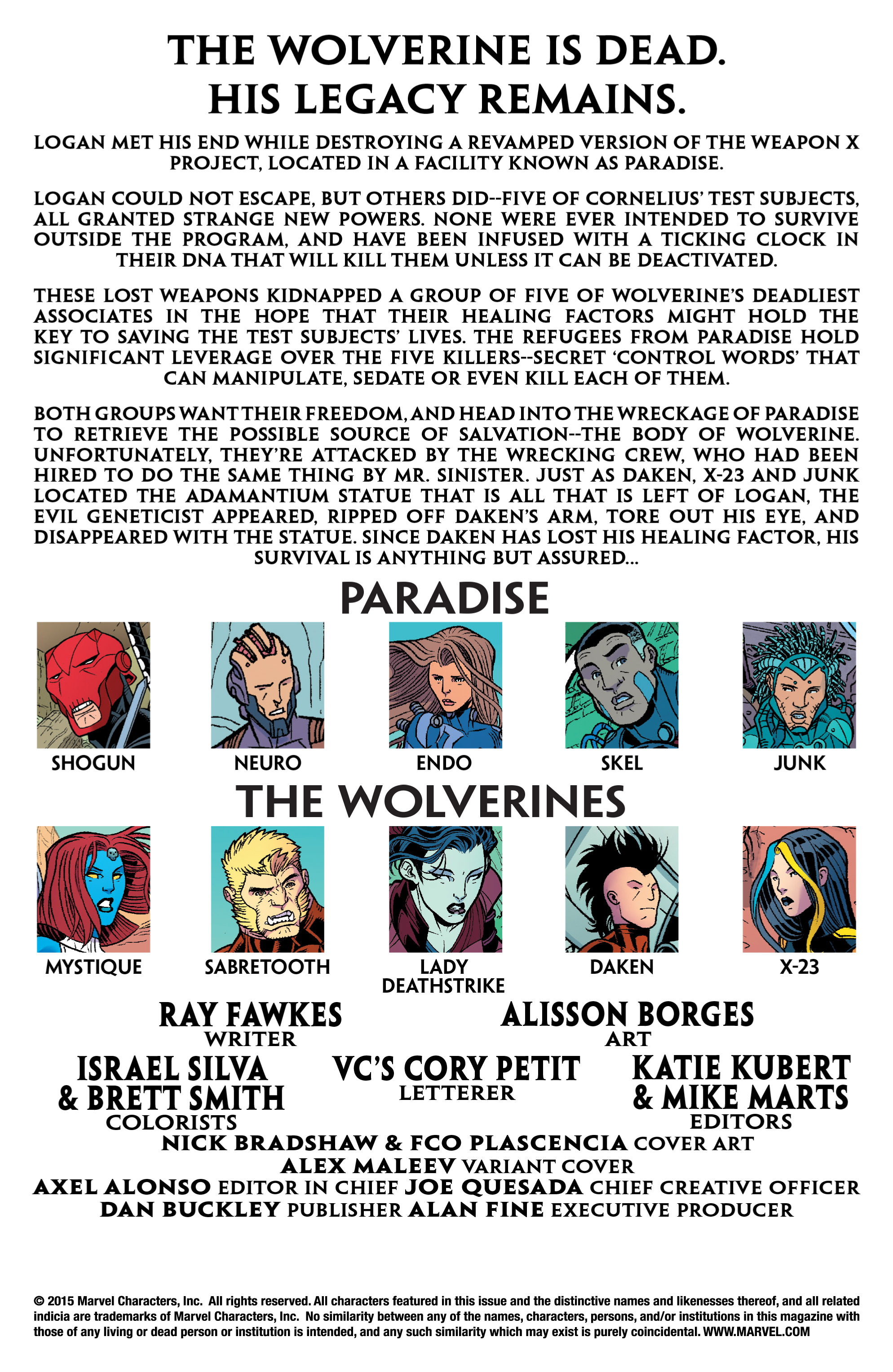 Read online Wolverines comic -  Issue #2 - 2