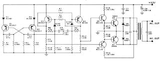 Skema Inverter 12V To 220V 100W